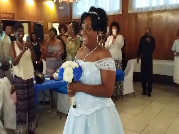 RICKY AND WANDA TAKE THEIR MARRIAGE VOWS SATURDAY, AUGUST 1, 2015